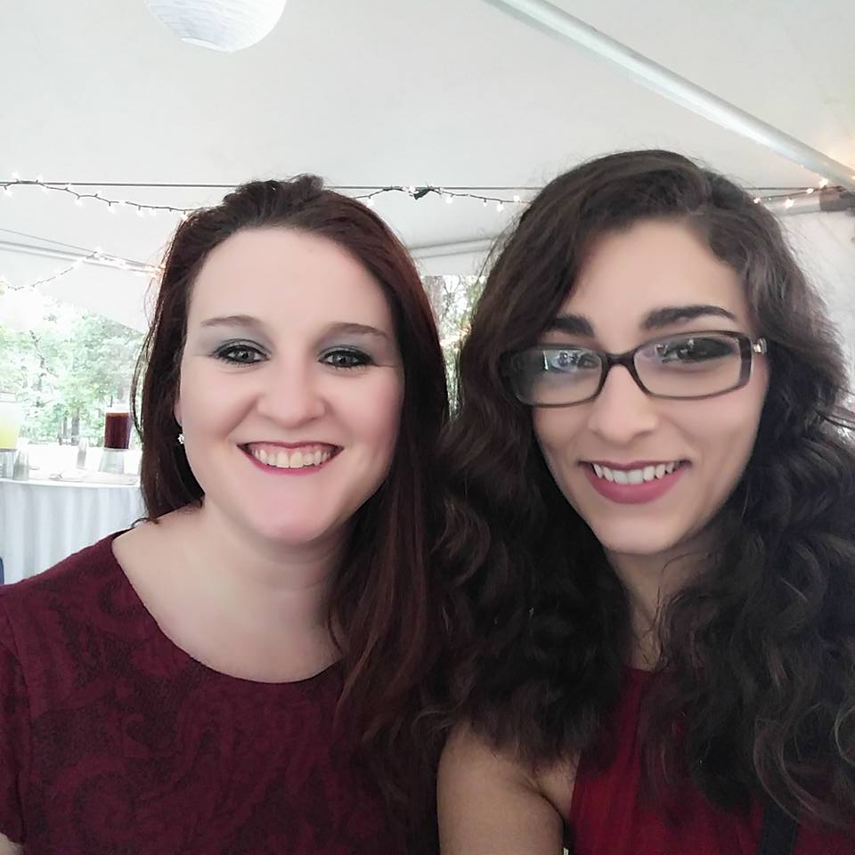 Photo of staff: Left: Dr. Rene' Holt; Right: Jessie Brown