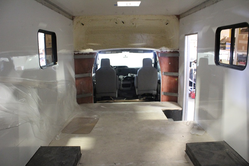 Back to Front Interior